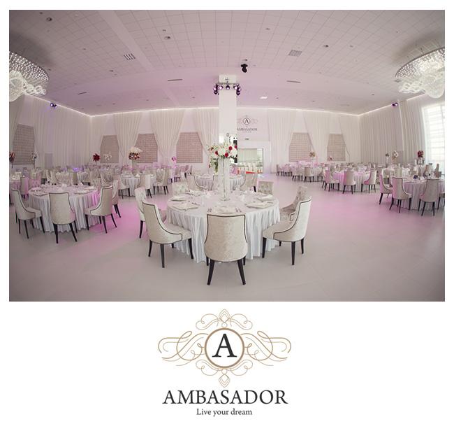 Ambasador – cea mai mare sala de evenimente din Bihor