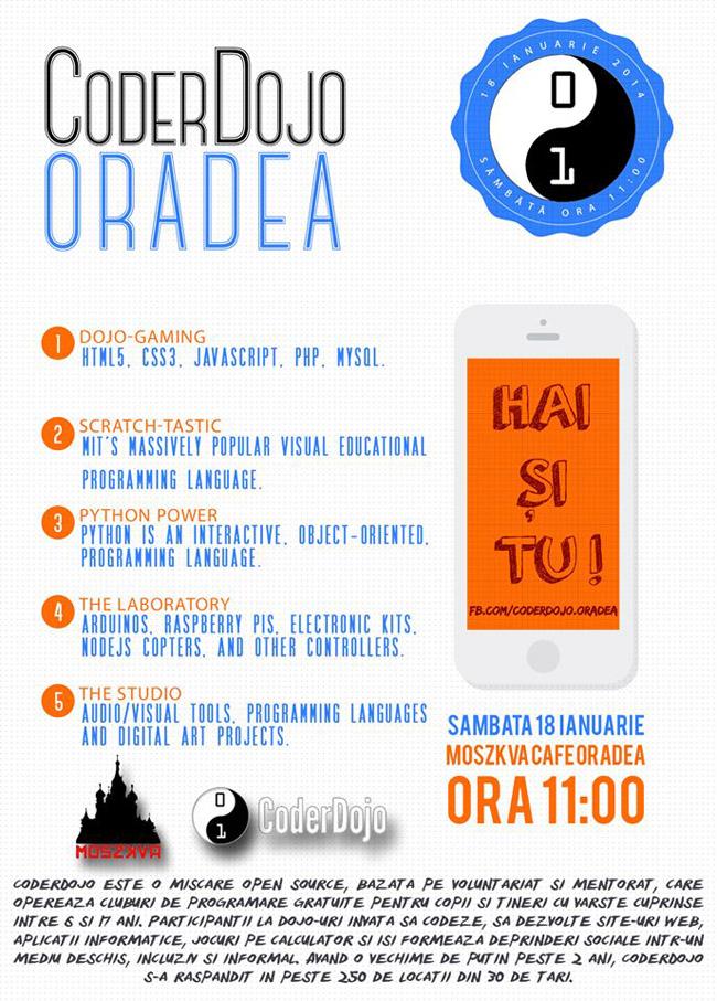 CoderDojo Oradea