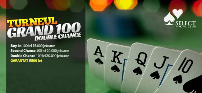 Turneu poker Grand 100
