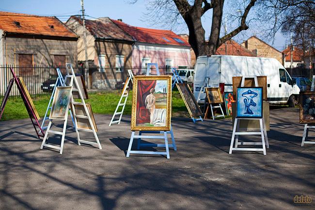 Targ de antichitati in Oradea
