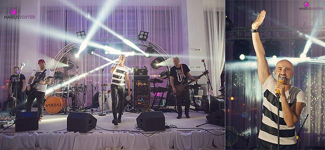 Trupa Voltaj a concertat live la o nunta organizata la Oradea