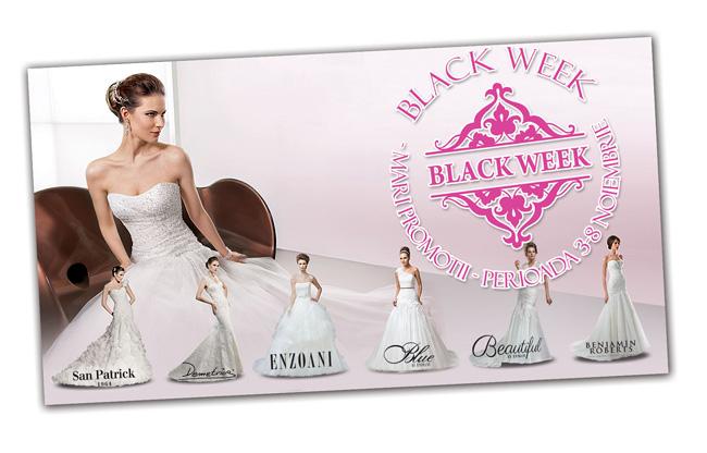Black Week pentru viitoarele mirese