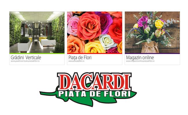 Piata de flori Dacardi