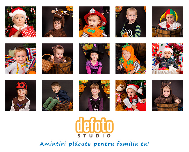 Fotografii pentru copii in Oradea