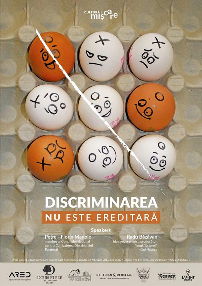 Discriminarea nu este ereditara