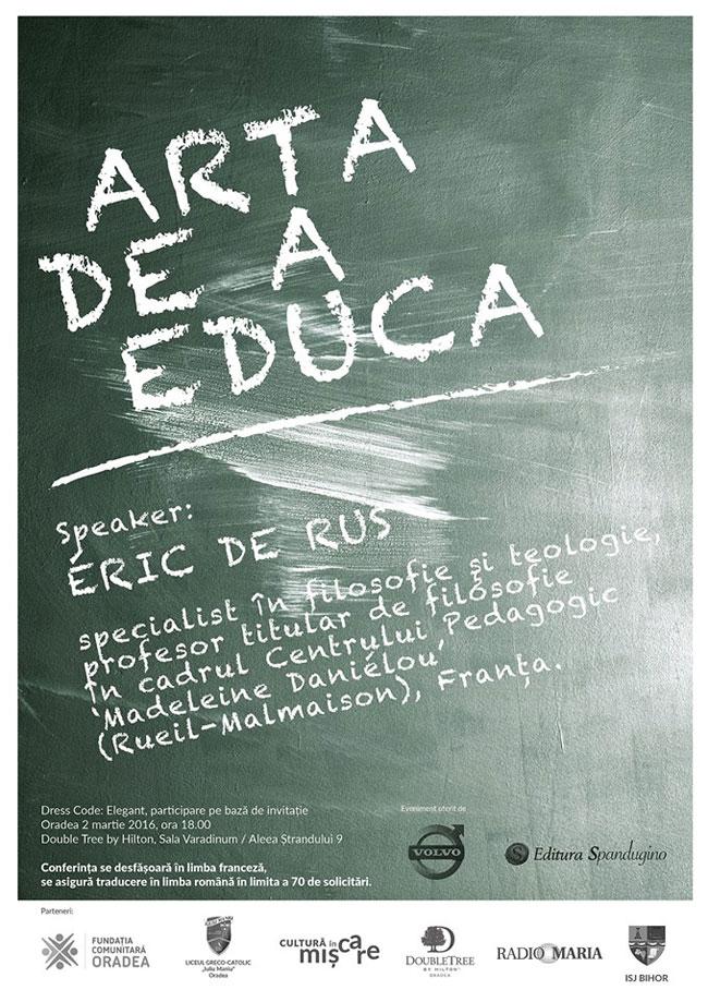 Arta de a educa, in Oradea