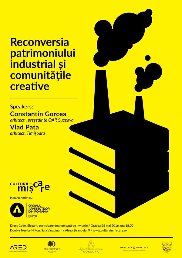 Reconversia patrimoniului industrial – conferinta