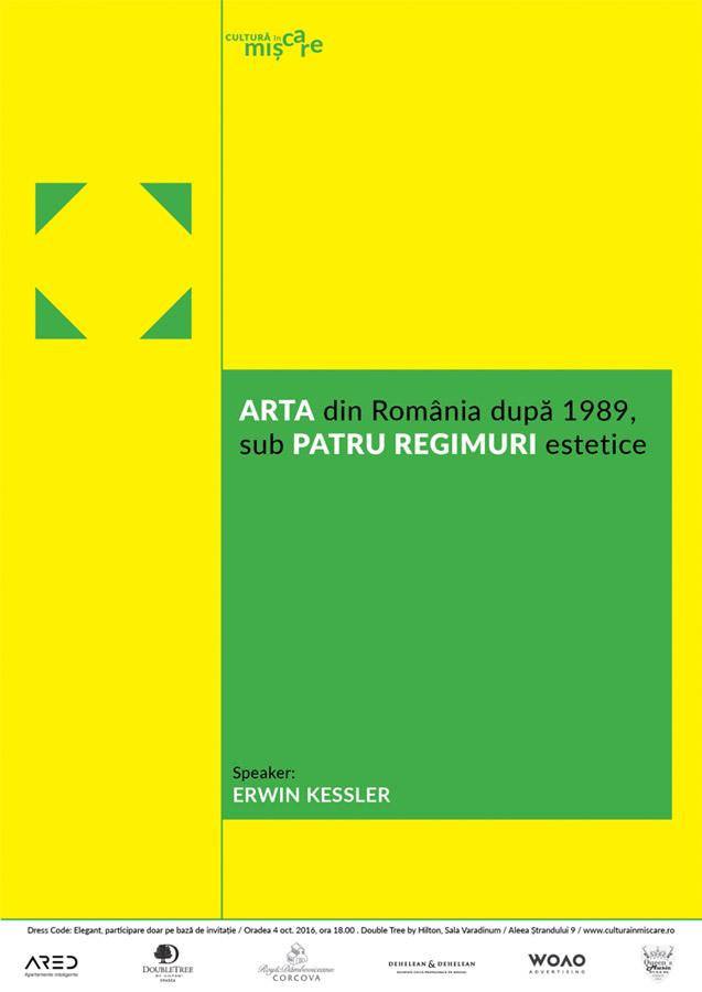 Conferinta – Arta din România după 1989