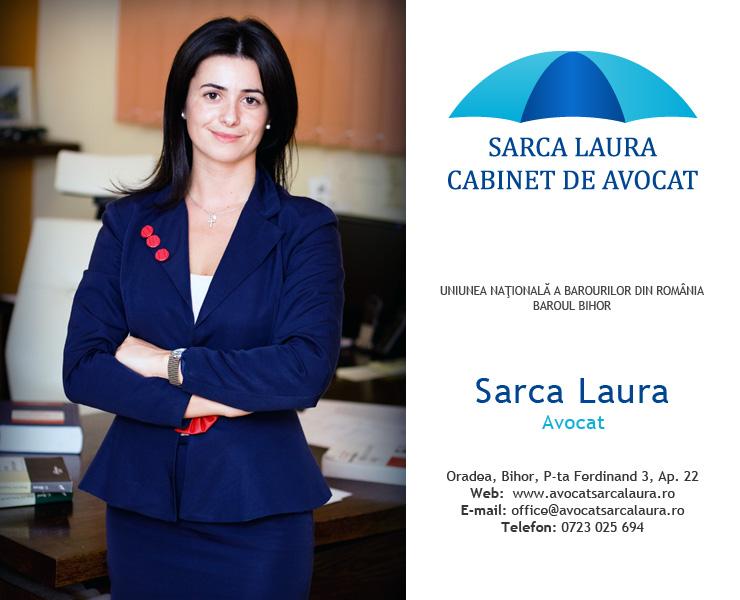 Avocat în Oradea – Laura Sarca