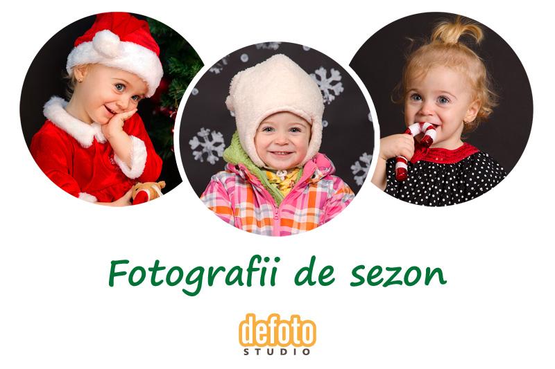 Fotografii de sezon pentru copii