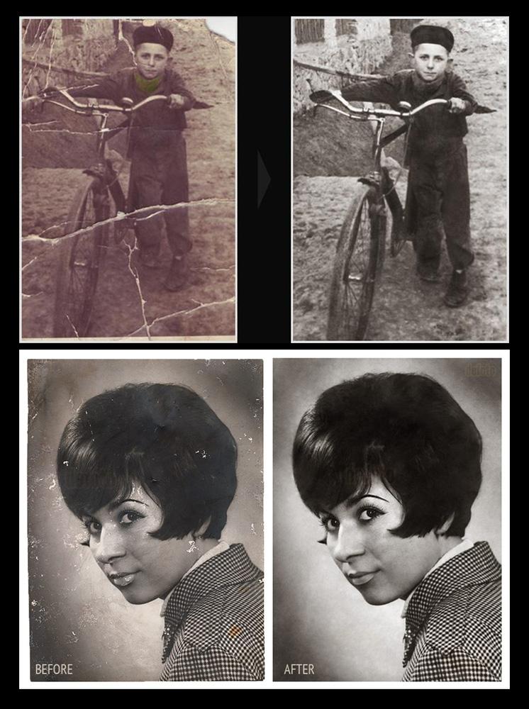 Restaurare-reconditionare fotografii vechi