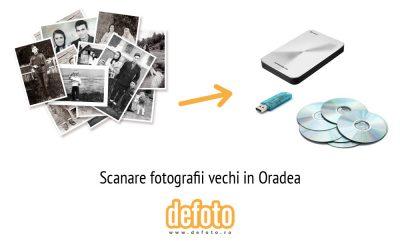Scanare fotografii in Oradea