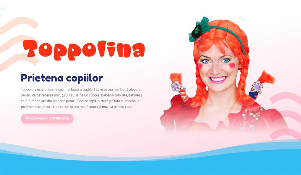 Toppolina – prietena copiilor